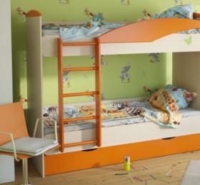 Кровать Двухъярусная №23