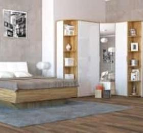 Спальня «Тоскано дуб» белый