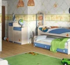 Кровать Двухъярусная №36