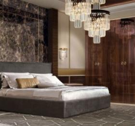 Спальня «Римини» темная