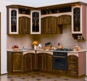 Кухня «Амелия» темная