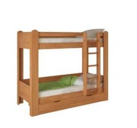 Кровать Двухъярусная №1 ольха
