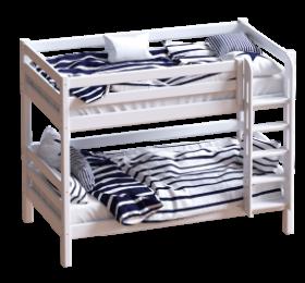 Детская кровать Авалон с прямой лестницей