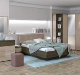 Спальня «Тоскано ясень» темный капучино