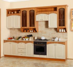 Кухня «Амелия» светлая