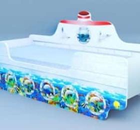 Кровать «Кораблик 1»