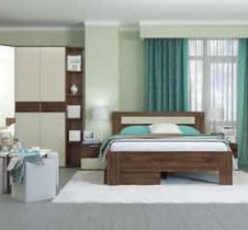 Спальня «Тоскано дуб» эйприл песочный глянец