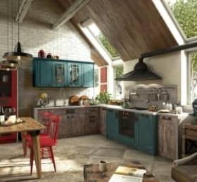 Кухня «Loft» Микс