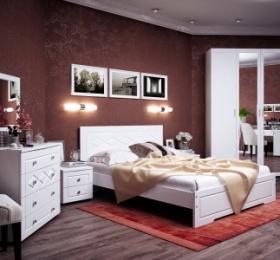Спальня «София» ясень жемчужный