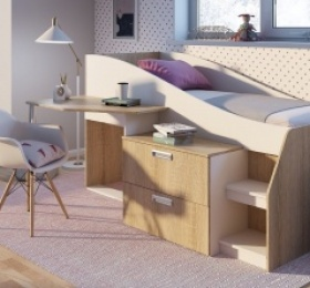 Кровать-чердак «Скаут»